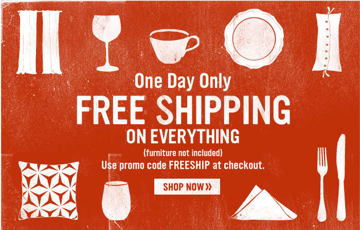 one day shipping code for west elm