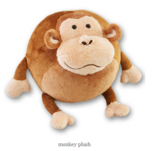 monkey plush 300x298 Baby Steals.com   Lubies