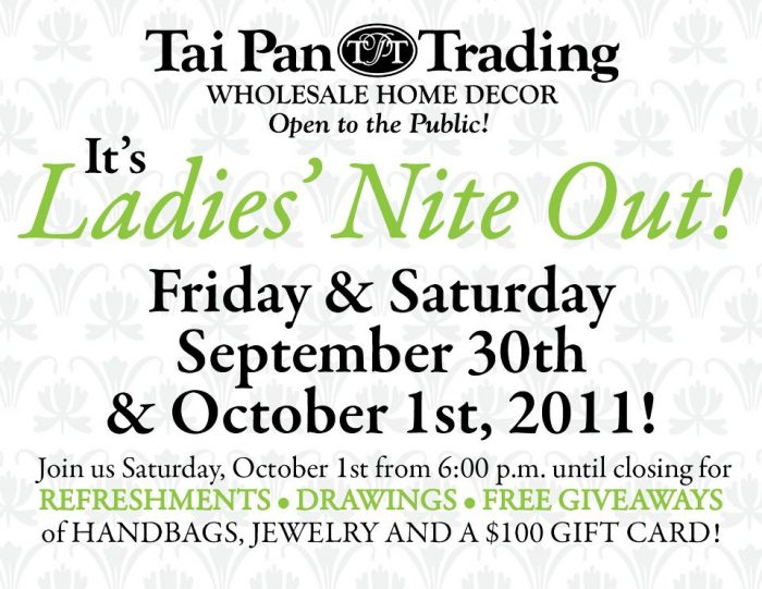 309434 10150458335039196 67429724195 10836445 294592044 n Tai Pan Trading Ladies Night Out!!