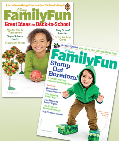Get A 1 Year Subscription To Family Fun For Only 5 10 Issues Or 2 20 Total Savings Of 88