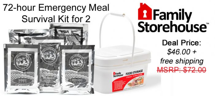 72 hour kit deal 72 Hour Kit for a Steal!!!