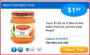 Beach Nut Baby Food 300x183 HOT! Saving Star Loadable Coupons