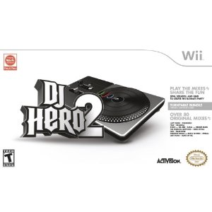 DJ Hero 2 DJ Hero 2 Turntable Bundle Wii Game Only $22.13 (Reg $59.99).