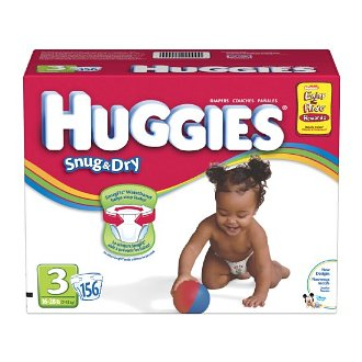 Huggies size 3 AAA Deal: Great Deal on Diapers!  Huggies and Pampers Coupons = Time to Buy!