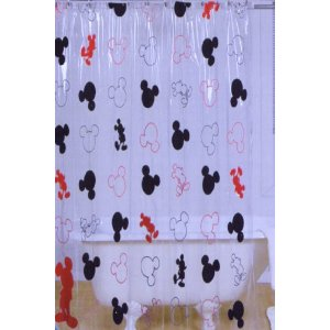 Awesome This Is An Amazing Deal On A Super Cute Shower Curtain! Right Now You Can  Get This DISNEY MICKEY MOUSE SHOWER CURTAIN For Only $6.03!