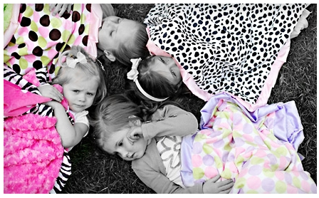 minky couture Super Cute Minky Coutures Hand Sewn Blankets Deal (50% off)!!