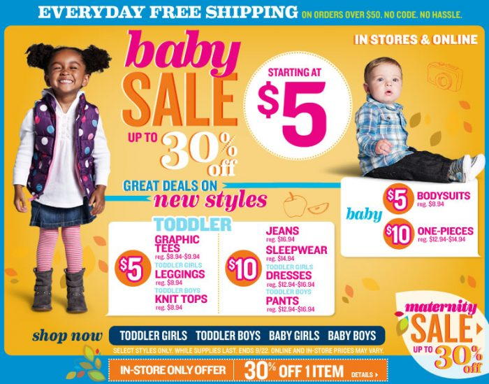 oldnavy.com  Saturday Only Old Navy Deal   50% off Dresses Plus a 30% off Printable Coupon!
