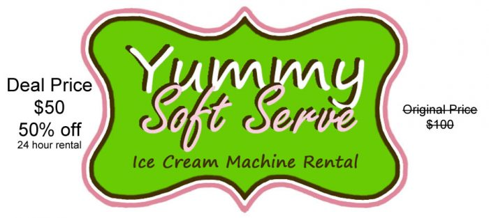 soft serve machine rental utah
