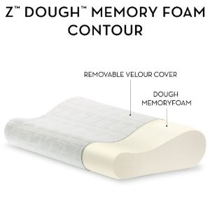 zdoughpic Two Memory Foam Pillows $22. or $32. ($140. value) save 78% and FREE shipping