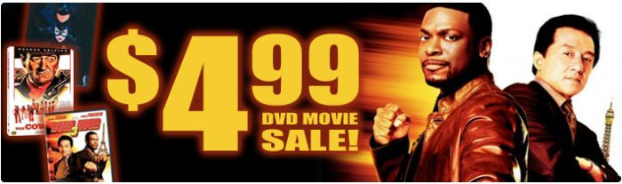 499 DVD **Super Hot**  Code for $5.00 Off on Deep Discount = Free DVD and More!!  Just pay $.99 Shipping!
