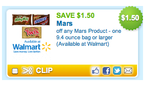 Mars candy coupon deal *Hot* Printable Coupon for Mars Candy