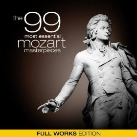 Mozart Album Deal *Hot*  The 99 Most Essential Mozart Masterpieces Album Only $.99 on Amazon!  That is 1 Cent a Song!