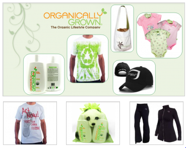 Organically GrownMAIN Organically Grown   Clothing, Personal Care, Bedding   $35 Vouchers for $17, 50% off