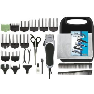 Wahl Haircut Kit Save $$ By Doing Your Own Haircuts!!  Wahl 24 Piece Haircut Kit ONLY $26.24 (Reg $40.95).  Free Shipping!