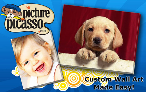 deal Picture picasso discount coupon Get your photos printed on canvas for just $39