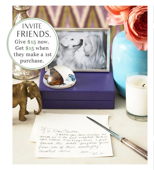 inviteafriend onekingslane Get $15 in Credit when you sign up at One Kings Lane = FREE America Retold Love Signs