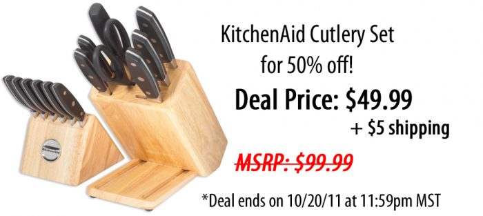 knife set promo code
