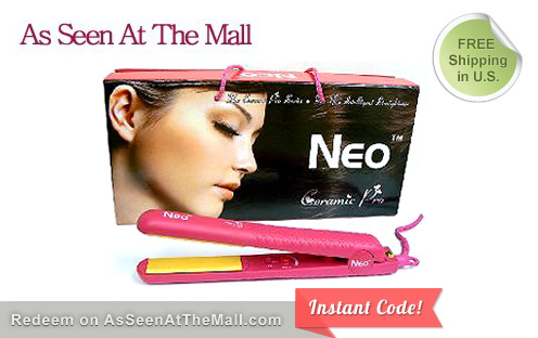 344 1 1320246339 Deal Pulp $70 for a Neo Ceramic Pro Flat Iron FREE shipping ($320. value)
