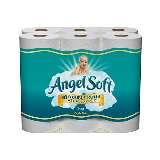 Angel Soft Deal Sold Out. AAA Deal:  Angel Soft Bath Tissue Only $.23 per Roll.  Plus Free Shipping.