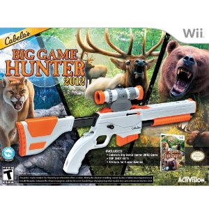 Cabelas Big Game Hunter Deal Cabelas Big Game Hunter 2012 with Top Shot Elite for Wii $29.99 (Reg $59.99)!  Free Shipping