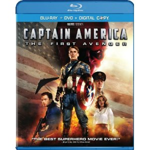 Captain America Blu ray Deal Wow!  Captain America: The First Avenger on Blu ray Only $15.99!
