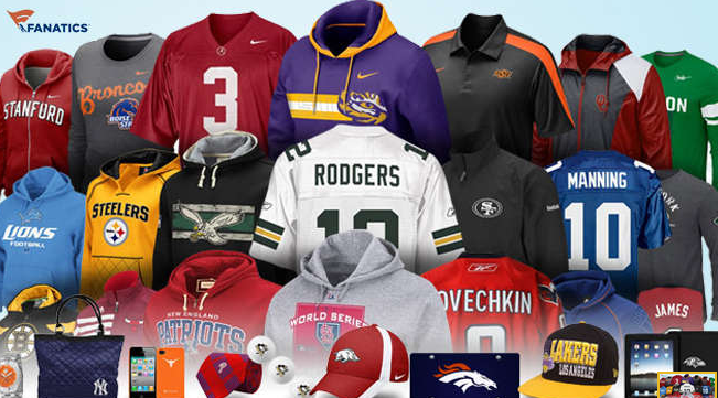 $20 worth of Sports Merchandise from Fanatics for only $10 ...