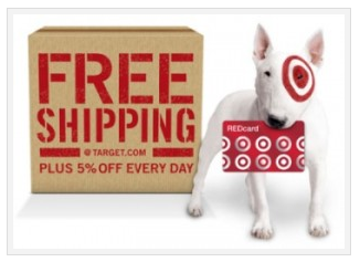 Free shipping at Target Deal *HOT* News!  Free Shipping at Target.com when you use REDcard DEBIT!!