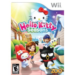 Hello Kitty Seasons Wii Deal Hello Kitty Seasons Wii Game Only $16.83 (Reg $29.99)!
