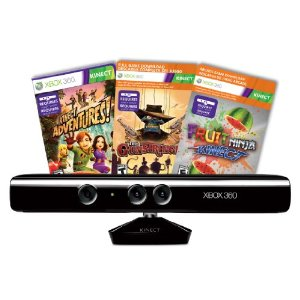 Kinect Sensor Deal Wow!  Kinect Sensor with Kinect Adventures $99!  Black Friday Price!