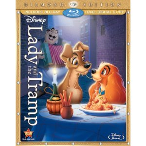 Lady and the Tramp Deal Hurry!  Lady and the Tramp Blu ray / DVD Combo Pre order Only $19.99 (Reg $44.99)