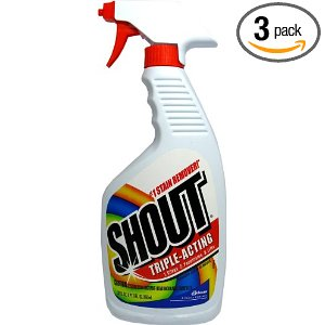 Shout Trigger Deal Shout Stain Remover 3 Pack Only $4.64!   Free Shipping!