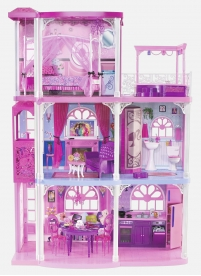 barbie townhouse deal Barbie 3 Story Dream Townhouse, 55+ accessory pieces, working elevator   $110 off!