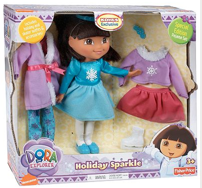dora the explorer holiday sparkle doll deal Dora the Explorer Holiday ...