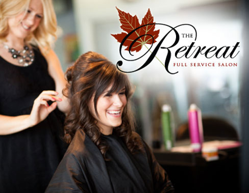 homepage TheRetreat Womens Cut And Style at The Retreat Full Service just $12.50 ($25 value)