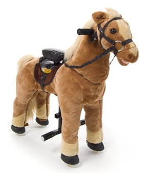 pony deal Coolest. Toy. EVER! Little Tykes Giddyup N Go Pony   you can ride down the street!