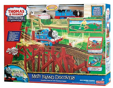 thomas and friends misty island deal Thomas & Friends Lost on Misty Island Playset $31.57 (reg. $70) + free shipping!