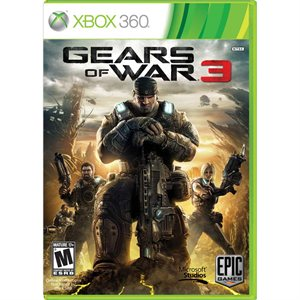 215401163 Buy.com Gears Of War 3 XBOX 360 $39.99 (Save $25) FREE Shipping