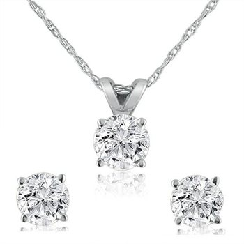 cttw latest carat stud earrings set necklace and groupon gg diamond deals