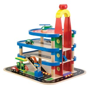 Alex Toys Wood Parking Garage Deal Amazon Toy Deals!  Crazy Deals All Week!  Up to 80% Off!!