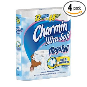 Charmin Ultra Soft Deal Three Different Charmin TP Deals!!  24 Mega Rolls (96 Regular) $21.80 Shipped Free!!