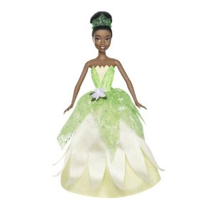 Disney Princess Tiana Doll Deal Disney Princess 2 In 1 Ballgown Surprise Dolls $9.99 (Reg $20.99) Free Shipping!