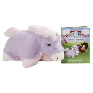 Lavender Unicorn Pillow Pet Deal Hot!  New Pillow Pets.  Dragon with Book $14.99 (Reg $32.99)!  Or Unicorn $13.99.  Free Shipping!