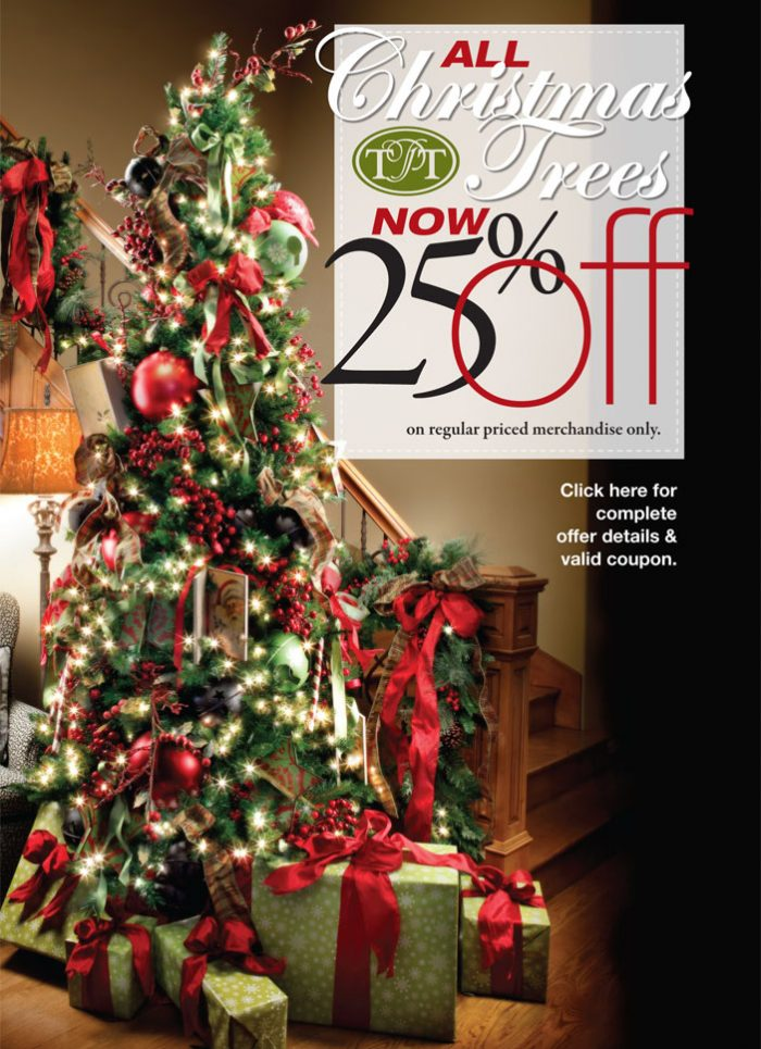 Middle1 Tai Pan 25% Off All Regular Price Christmas Trees With Coupon