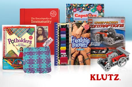 Save 460x305 49355 $14 for $30 worth of activity books, projects and games from Klutz