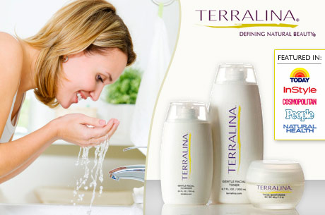 Save 460x305 49842 $20 for $75 Worth of Natural Skincare Products from Terralina Shipping Included
