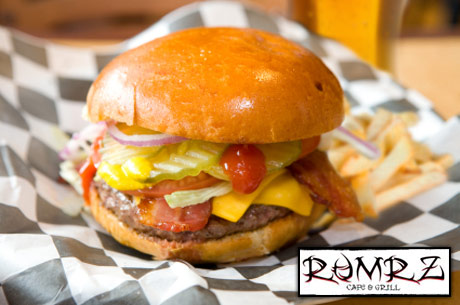 Save 460x305 502701 $10 for $20 worth of burgers, BBQ & non alcoholic beverages at Rumrz Cafe & Grill in So. Jordan