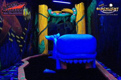 Save 460x305 51285 1 $11 for a round of mini golf and 30 minutes of laser tag for two ($24 value)