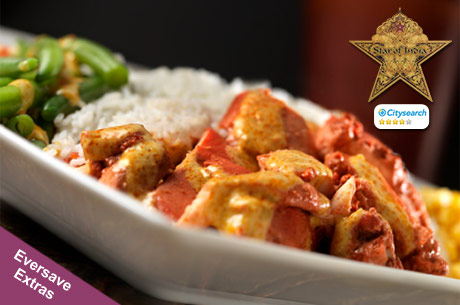 Save 460x305 51748 $10 for $20 worth of Indian cuisine & drinks at Star of India
