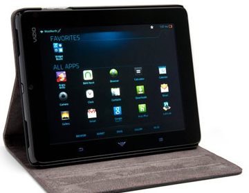 "android tablet deal Vizio 8"" Android 2.3 Tablet   $159.99"
