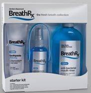 breathRx deal BreathRx for bad breath   Starter kit 50% off   $10